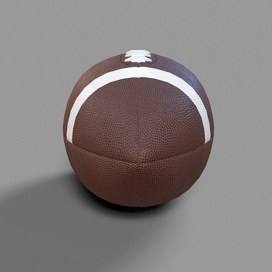 Jugador de fútbol americano Lowpoly royalty-free modelo 3d - Preview no. 26