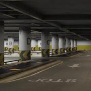 Parking Podziemny (1) 3d model
