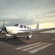 Beechcraft A36 Bonanza 3d model