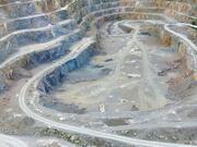 Miniere a cielo aperto - Foro di terra 3d model