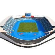 奥林匹克体育场 3d model