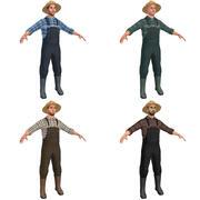 PACK degli agricoltori 3d model