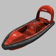 Szybka łódź ratownicza (VG6.0FRW) 3d model