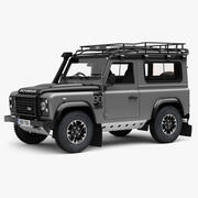 Land Rover Defender 90 TD Adventure Edition modelo 3d
