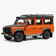 Land Rover Defender 110 TD Adventure Edition modelo 3d