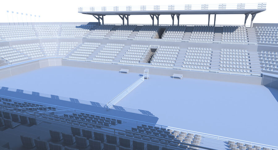 Tennis Court Collection royalty-free 3d model - Preview no. 18