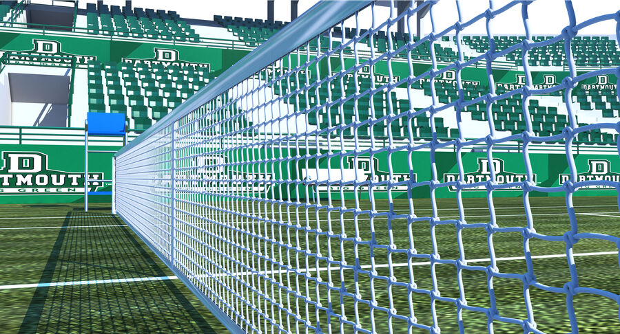 Tennis Court Collection royalty-free 3d model - Preview no. 12