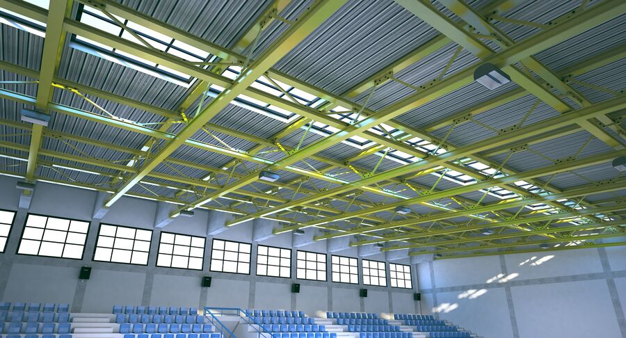 Tennis Court Collection royalty-free 3d model - Preview no. 35