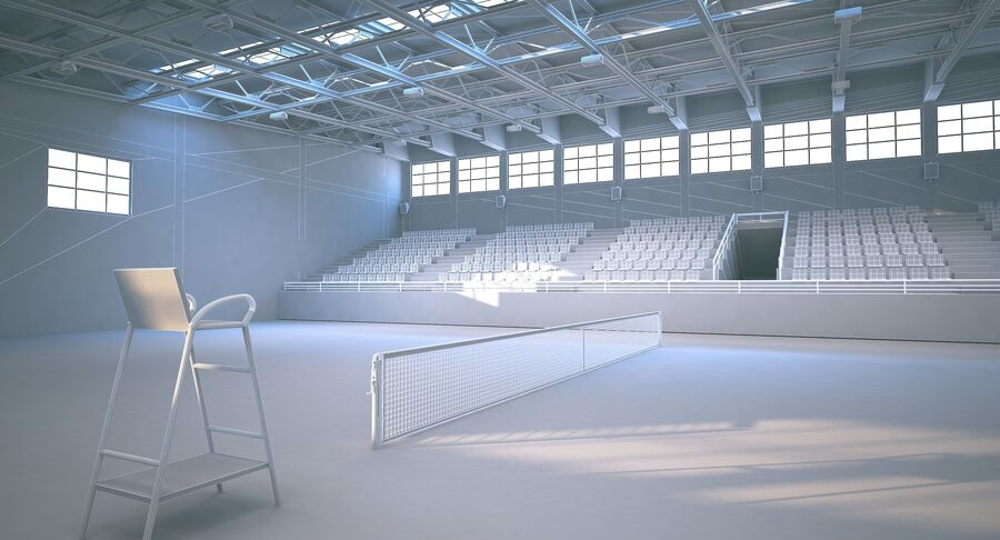 Tennis Court Collection royalty-free 3d model - Preview no. 37