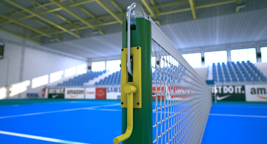Tennis Court Collection royalty-free 3d model - Preview no. 34
