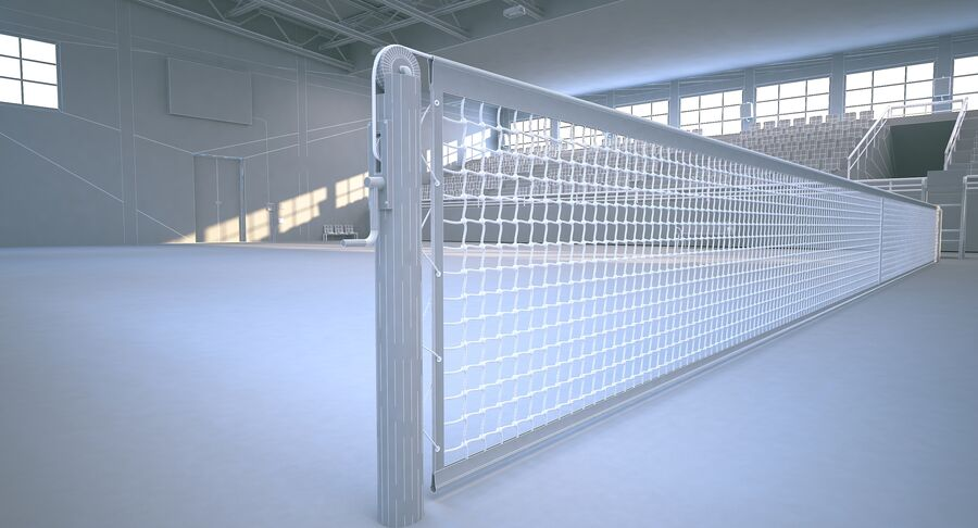 Tennis Court Collection royalty-free 3d model - Preview no. 39