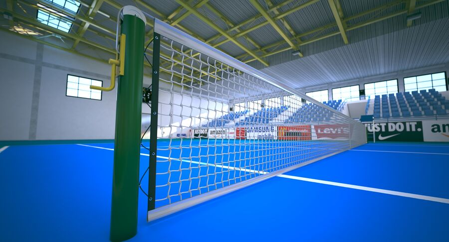 Tennis Court Collection royalty-free 3d model - Preview no. 32