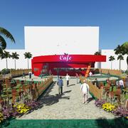 Restoran ve Kafe 3d model