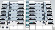 Wohnung 3d model