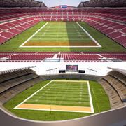 Collezione di stadi di calcio degli Stati Uniti 3d model