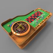 Ruleta modelo 3d
