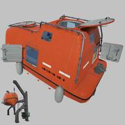 Barca di vita 3d model