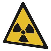 放射線シンボル 3d model