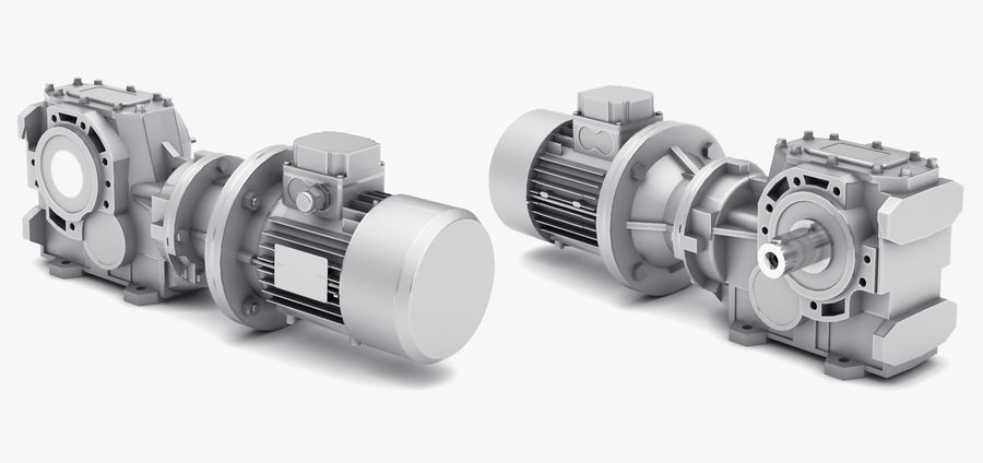 Electric Motor Pack royalty-free 3d model - Preview no. 8