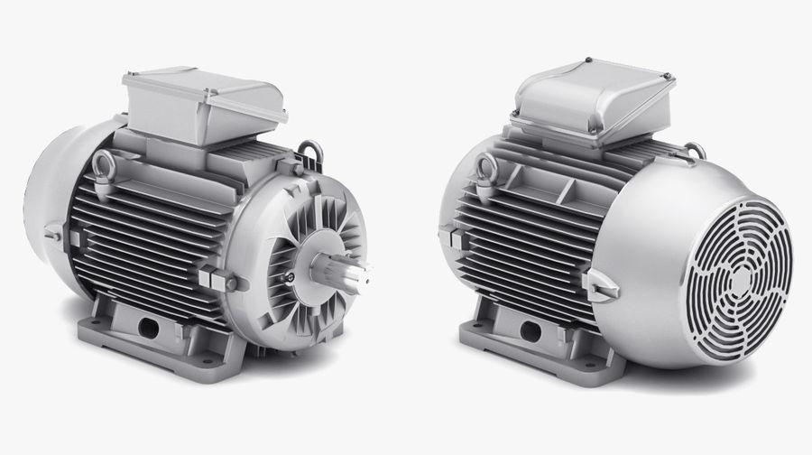 Pack moteur électrique royalty-free 3d model - Preview no. 6