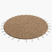 Carpet Rattan Fringe 3d model