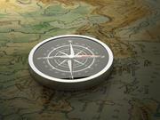 Modern Compass 3d model