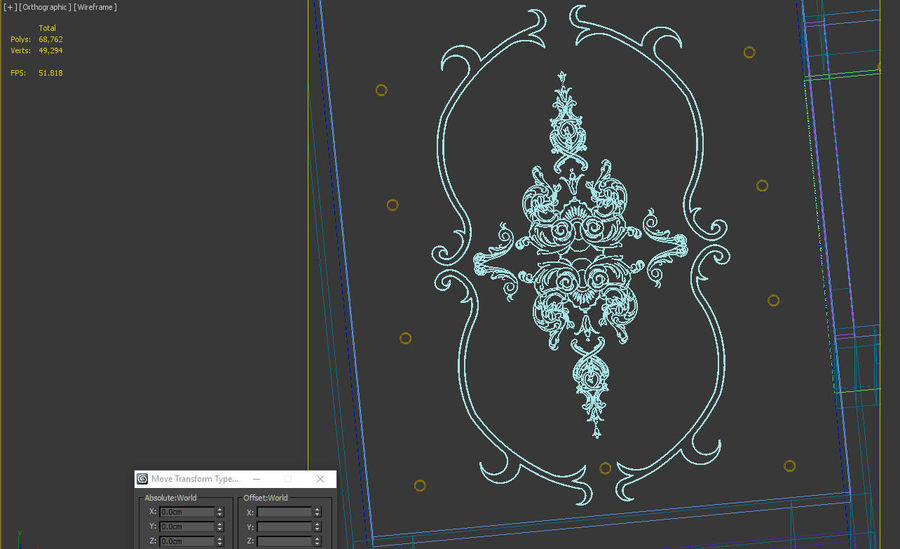 ornamentale royalty-free 3d model - Preview no. 7