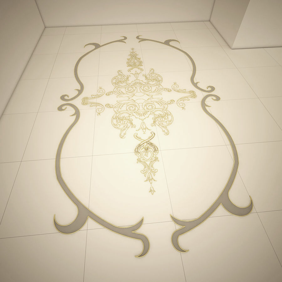 ornamentale royalty-free 3d model - Preview no. 1