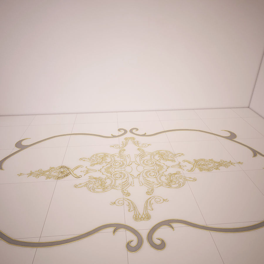 ornamentale royalty-free 3d model - Preview no. 3