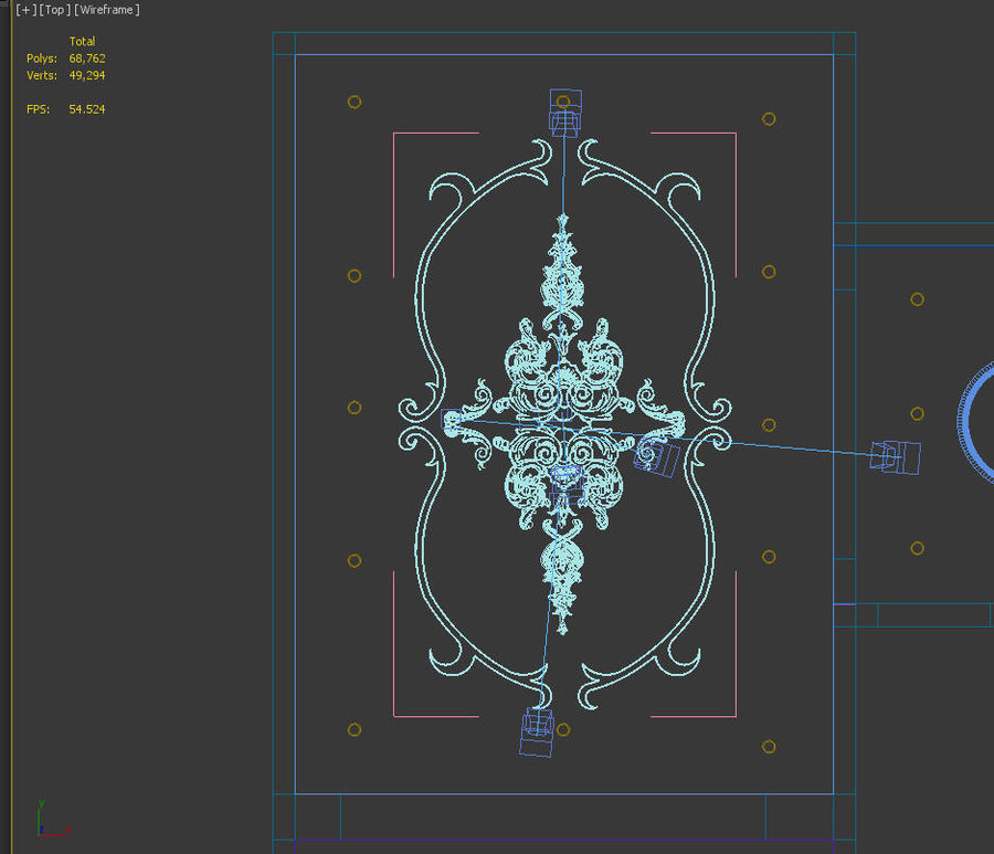 ornamentale royalty-free 3d model - Preview no. 6