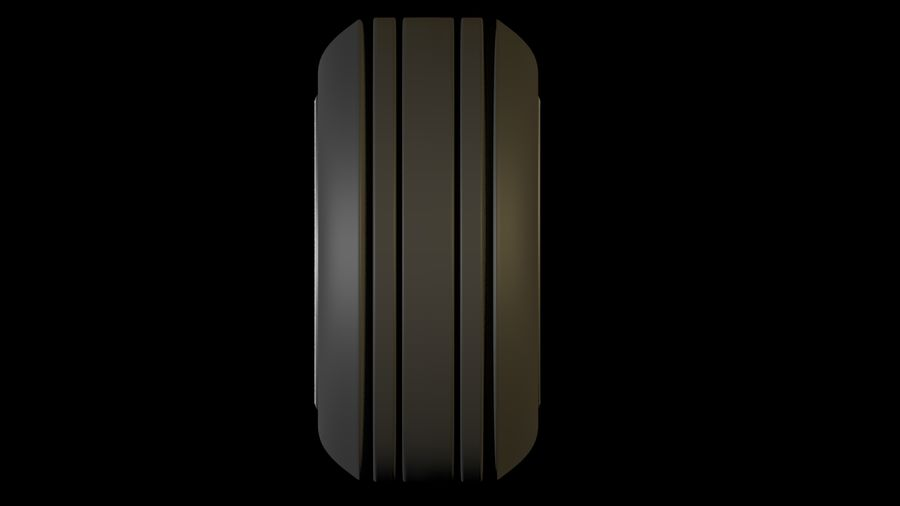 plane tire royalty-free 3d model - Preview no. 3