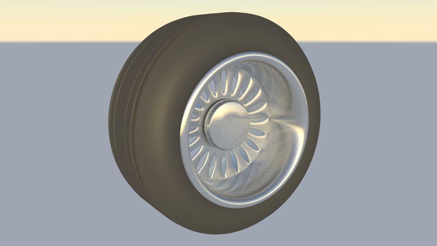 plane tire royalty-free 3d model - Preview no. 1
