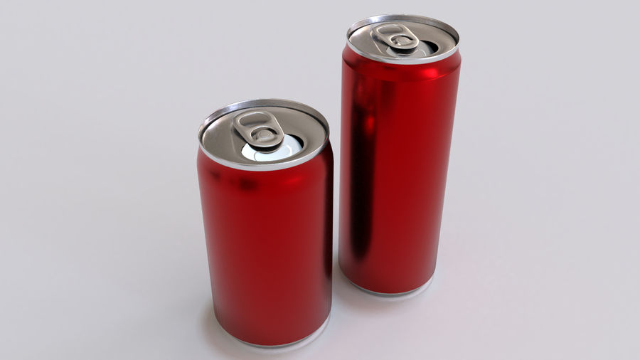 Soda Cans royalty-free 3d model - Preview no. 26