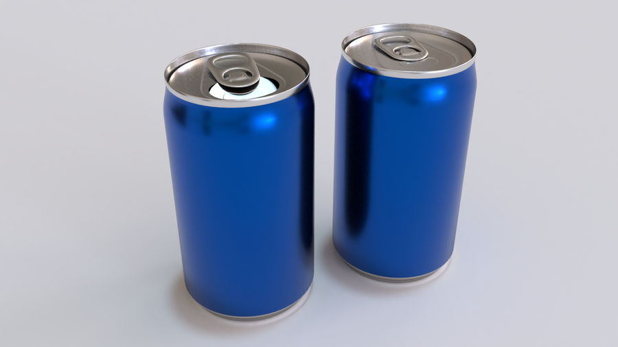 Soda Cans royalty-free 3d model - Preview no. 19