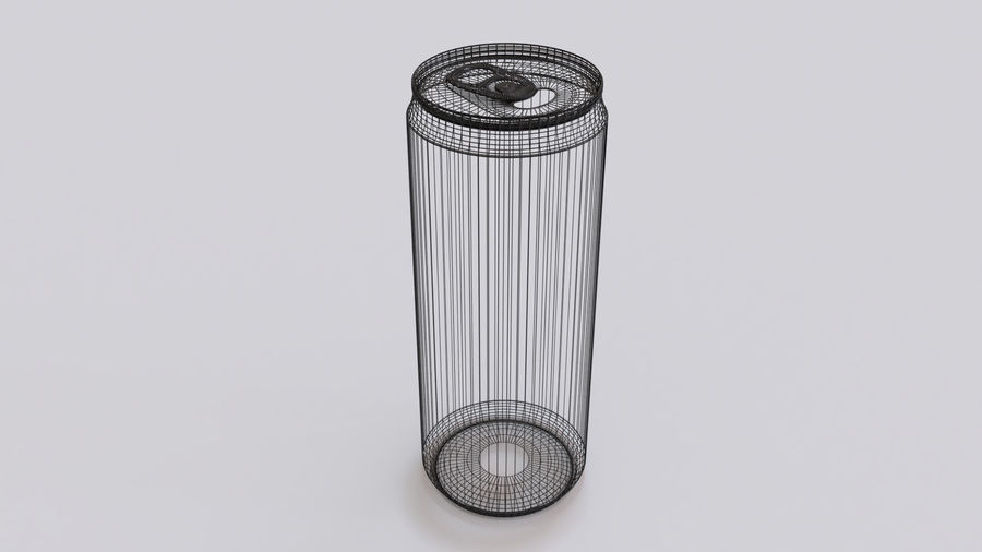 Soda Cans royalty-free 3d model - Preview no. 13
