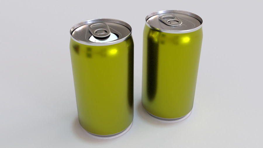 Soda Cans royalty-free 3d model - Preview no. 20