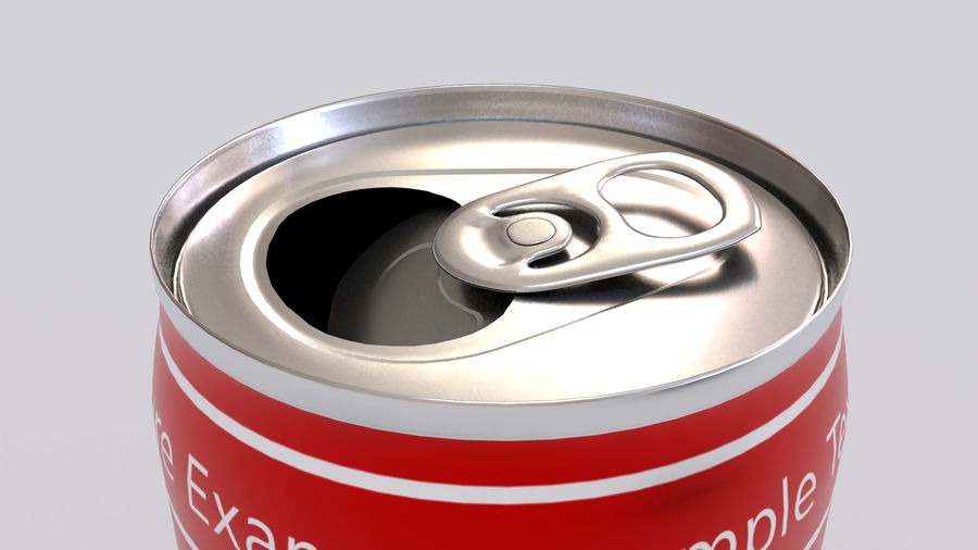 Soda Cans royalty-free 3d model - Preview no. 6