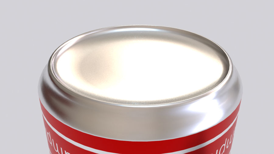 Soda Cans royalty-free 3d model - Preview no. 8