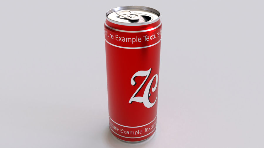 Soda Cans royalty-free 3d model - Preview no. 5