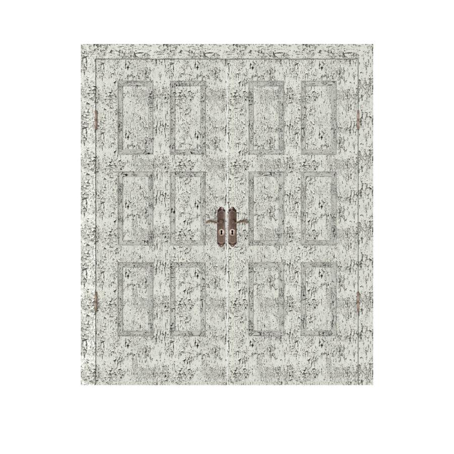 Çift kapı royalty-free 3d model - Preview no. 1