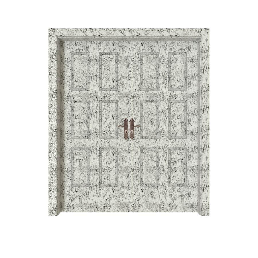 Çift kapı royalty-free 3d model - Preview no. 2