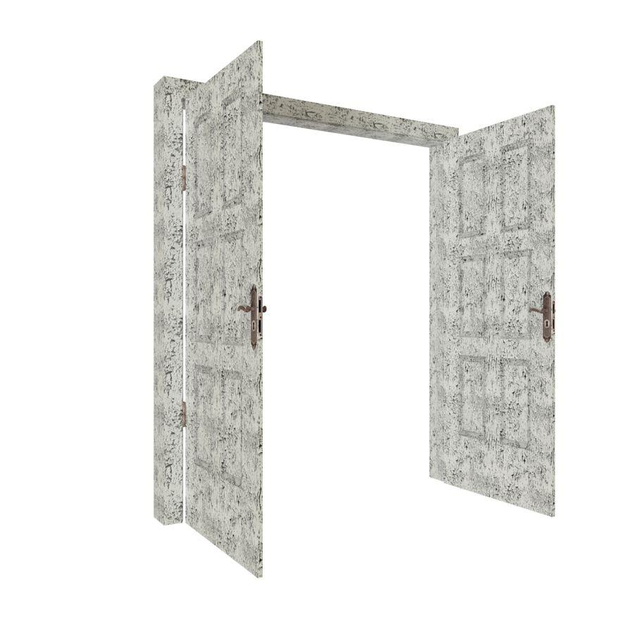 Çift kapı royalty-free 3d model - Preview no. 4