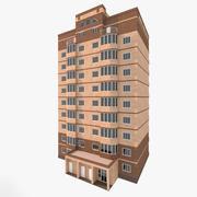 住宅建築その1 3d model
