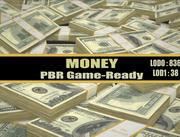 Money Dollars 3d model