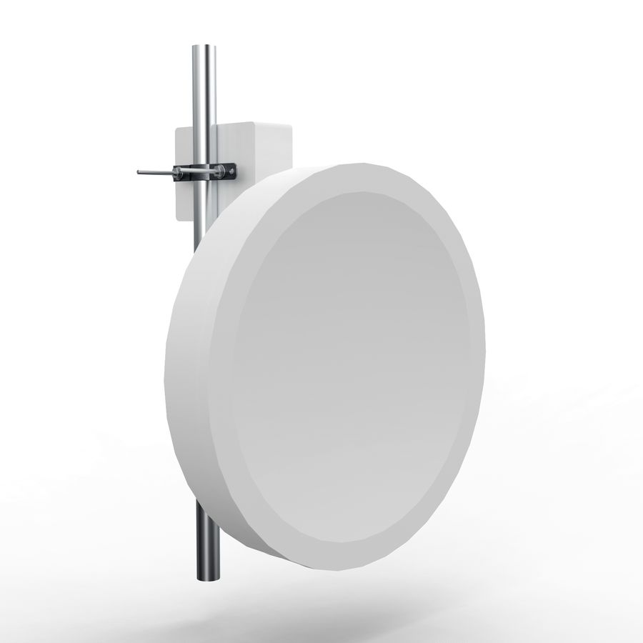 Wireless Antenna 60cm royalty-free 3d model - Preview no. 2