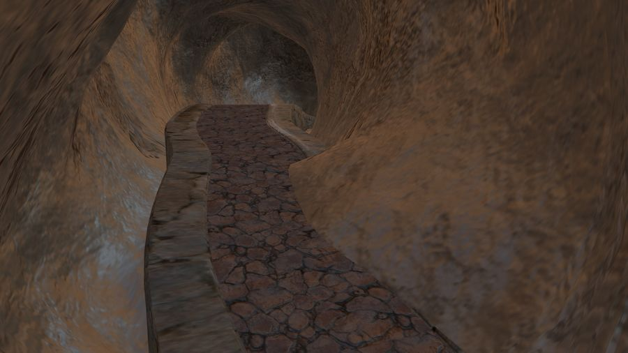 Cave royalty-free 3d model - Preview no. 7