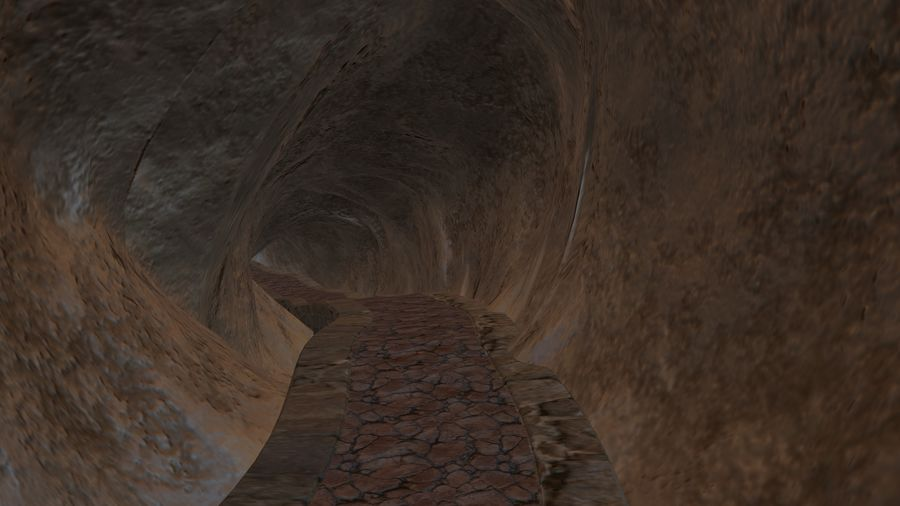 Cave royalty-free 3d model - Preview no. 9