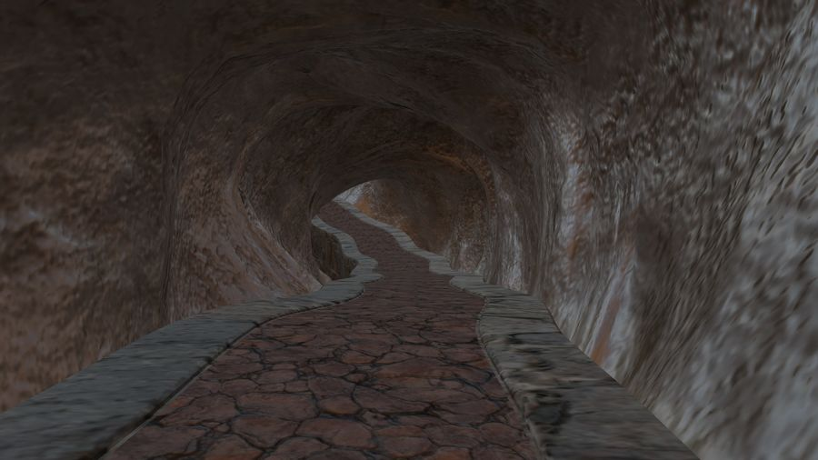 Cave royalty-free 3d model - Preview no. 1