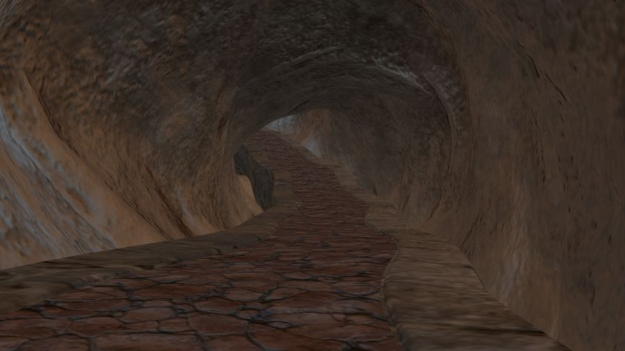 Cave royalty-free 3d model - Preview no. 10