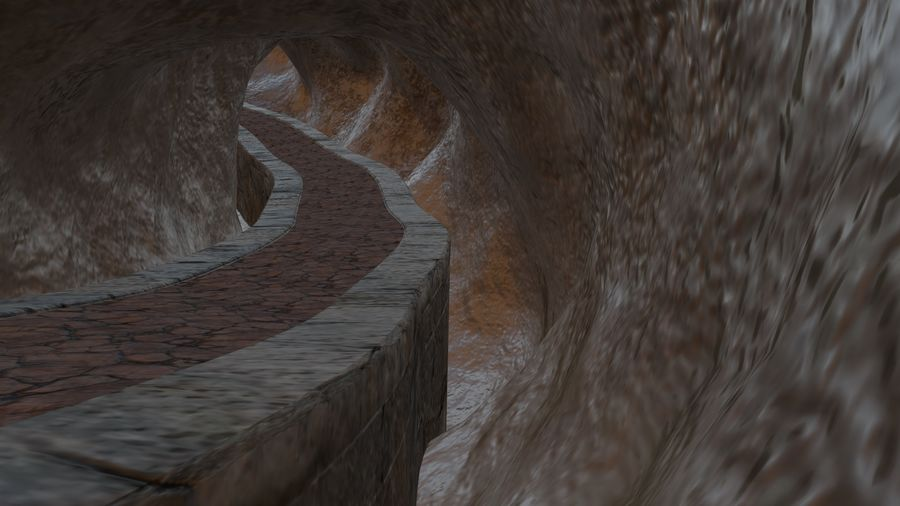 Cave royalty-free 3d model - Preview no. 3